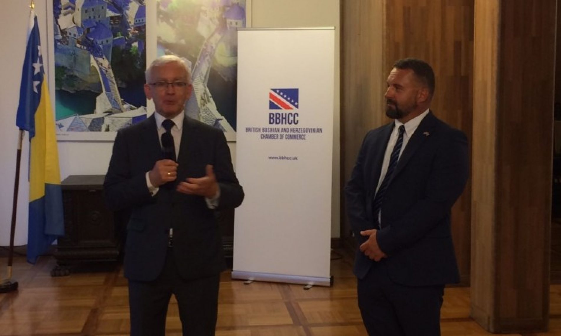 U Londonu promovirana Britansko-bosanskohercegovačka privredna komora