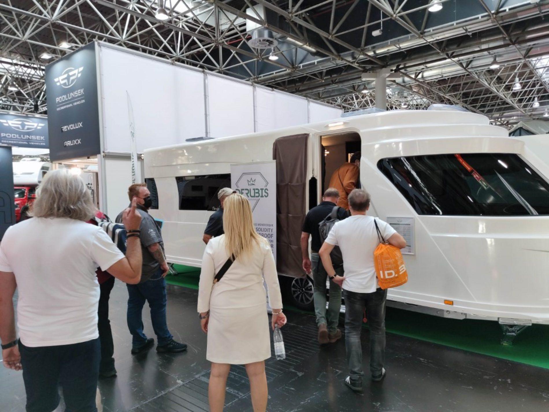 Bosanska kamp prikolica: Caravan Salon u Düsseldorfu opravdao uloženo i nadmašio očekivanja kompanije Derubis