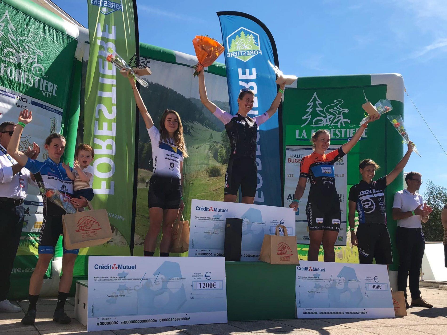 Bosanska biciklistkinja Lejla Tanović 2. na svjetskom kupu u maraton disciplini održanom u Francuskoj