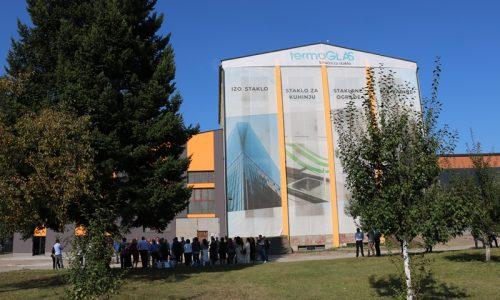 Džindić posjetio kompaniju Termoglas: Impresivno vidjeti da u Bosni i Hercegovini ovakva proizvodnja postoji