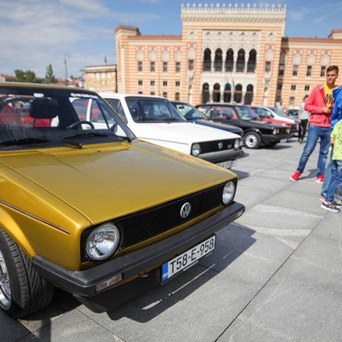 Golf Fest u Sarajevu okupio ljubitelje najpopularnijih VW automobila