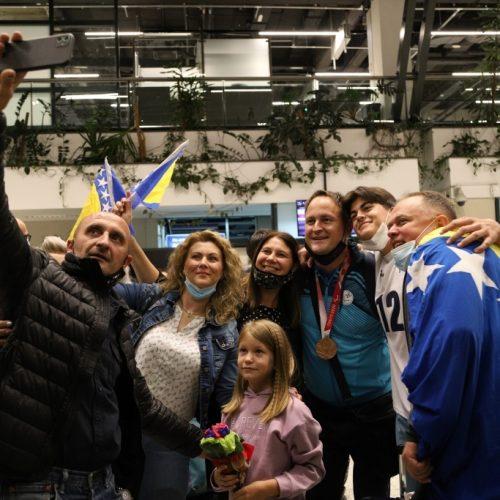 Naši trofejni odbojkaši s medaljama oko vrata vratili se s još jednog velikog takmičenja