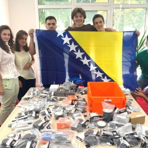 Robotički tim Bosne i Hercegovine vodeći na Međunarodnoj robotičkoj olimpijadi