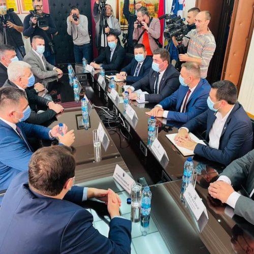 Dodik prijem Džaferovića kod gradonačelnika Bijeljine nazvao 'okupljanjem probosanskih snaga'