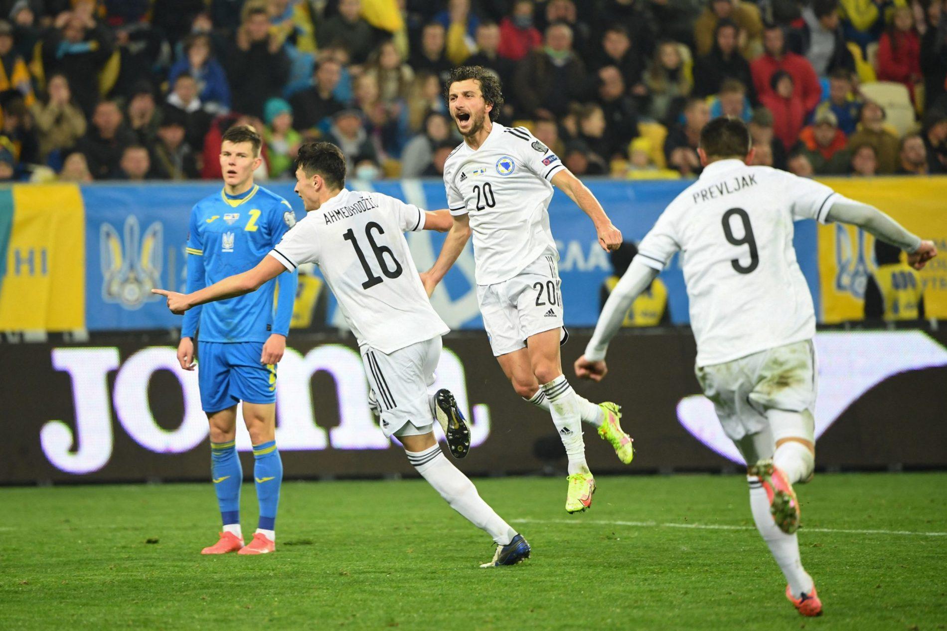 Bosna odigrala neriješeno u Ukrajini