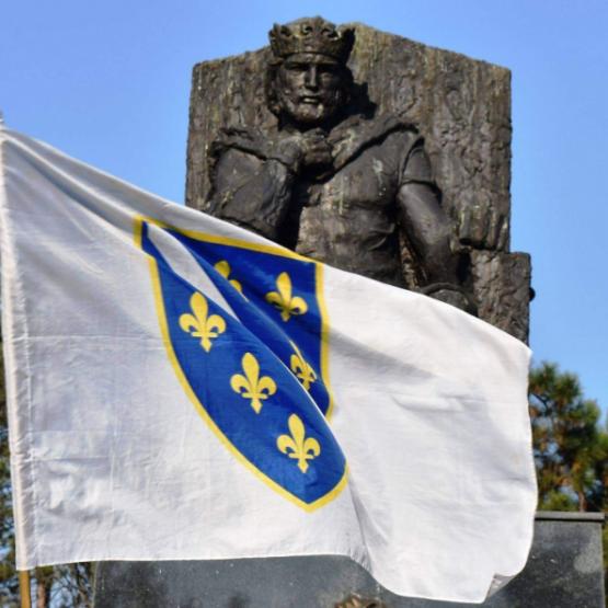 Tvrtka I, za kralja Bosne, okrunio je djed Crkve bosanske